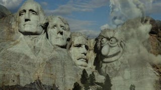 Illustration for article titled Who defaced Mount Rushmore best?