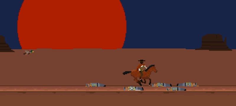 Illustration for article titled Luckslinger Is A Cowboy Hip-Hop Game