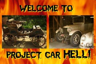 Illustration for article titled Project Car Hell, Pressure Drop Edition: Stanley Steamer or Gardner-Serpollet?