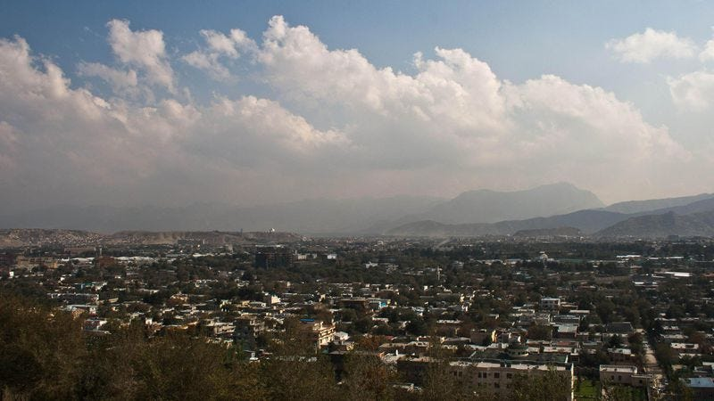 Kabul! The very picture of heart-pounding adventure! (Photo: James Solly/Wikimedia Commons)