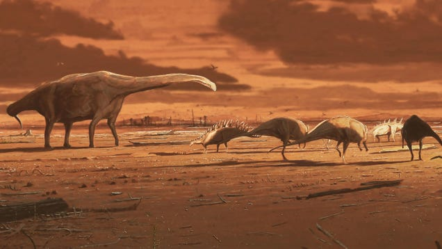 Scotland Was the Real  Jurassic Park' During the Reign of Dinosaurs, Newfound Footprints Suggest