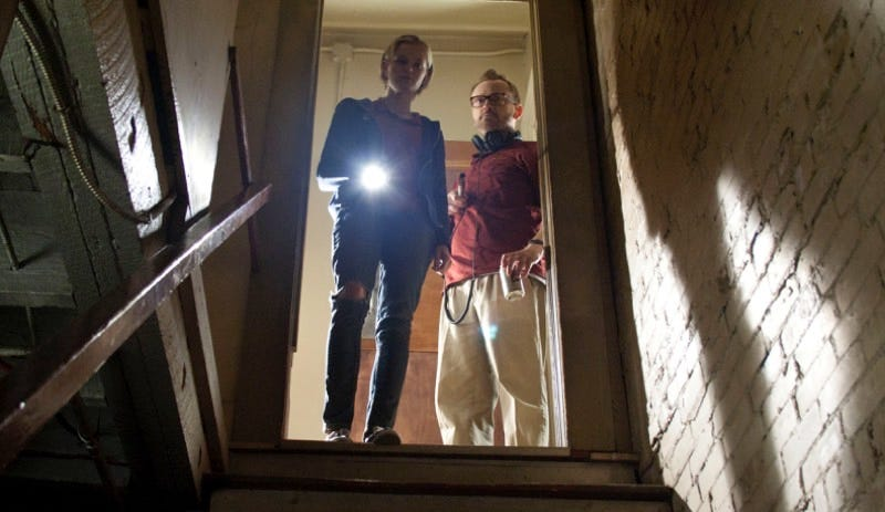 Sara Paxton and Pat Healy in The Innkeepers. Image: Magnet Releasing