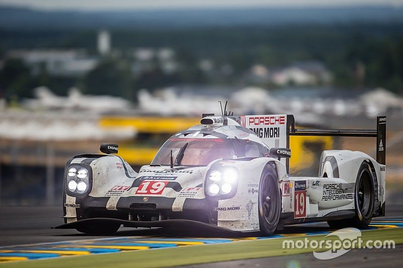 Illustration for article titled Le Mans practice underway now