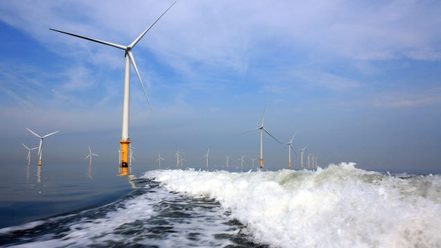Offshore Wind Is on the Brink of Becoming So Cheap, the UK Will Pay People to Use It