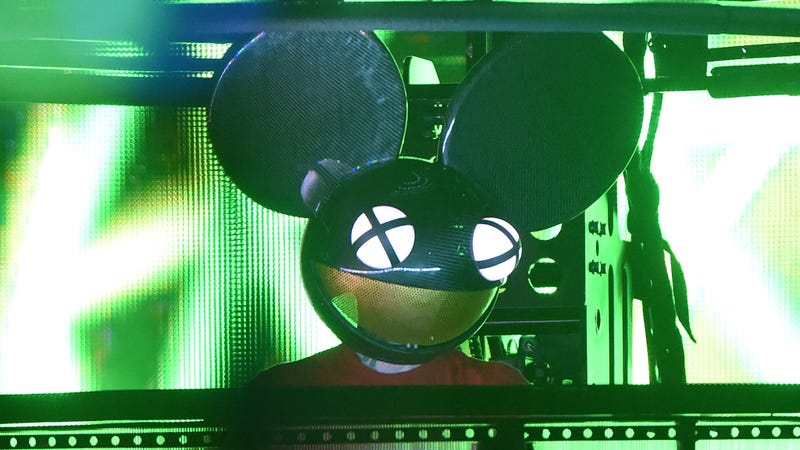 Illustration for article titled Deadmau5 'Just Can't' With Skrillex, Diplo and Justin Bieber