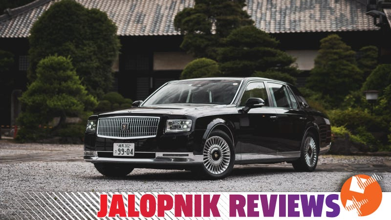 The Toyota Century is Too Luxurious For America
