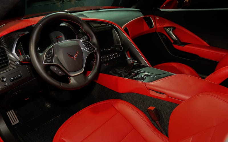 Illustration for article titled 2014 Stingray Interior or...