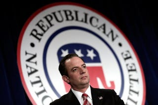 Republican National Committee Chairman Reince PriebusWin McNamee/Getty Images