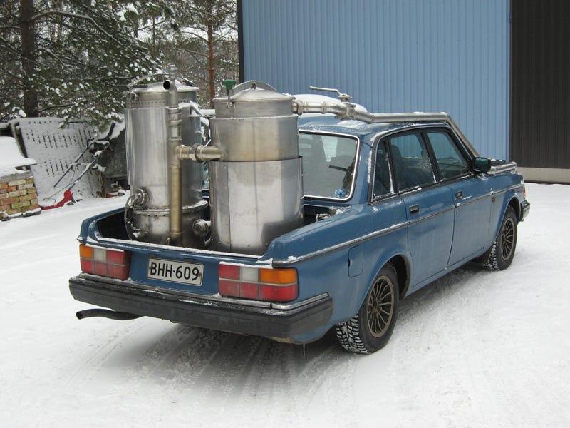 Wood gas cars of finland for Garage n4 auto duppigheim