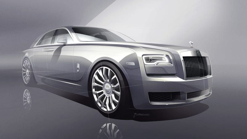 Illustration for article titled Honestly, Rolls-Royce Should Have Made The 'Platinum Ghost Collection' Instead