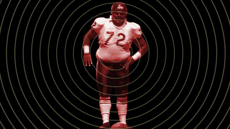 Illustration for article titled How To Turn A Big Mac Into A Linebacker: The 300-Pounder In The NFL