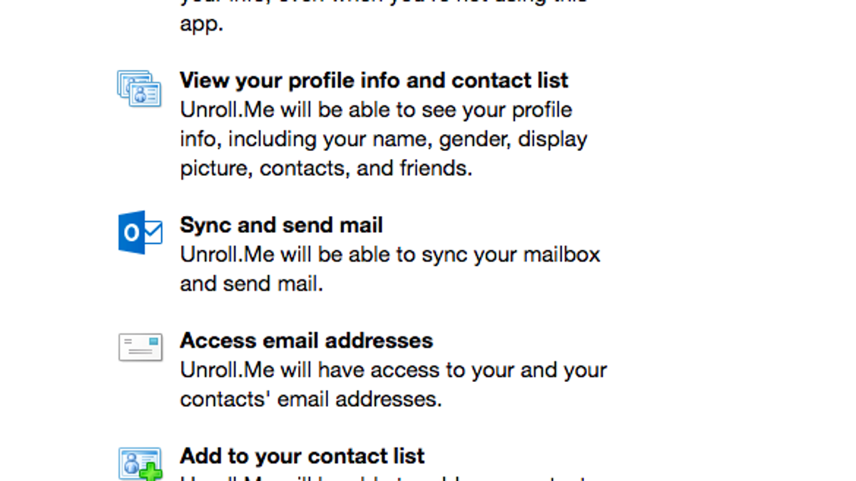 How Did Unroll me Get Users to Allow It to Sell Their Inbox