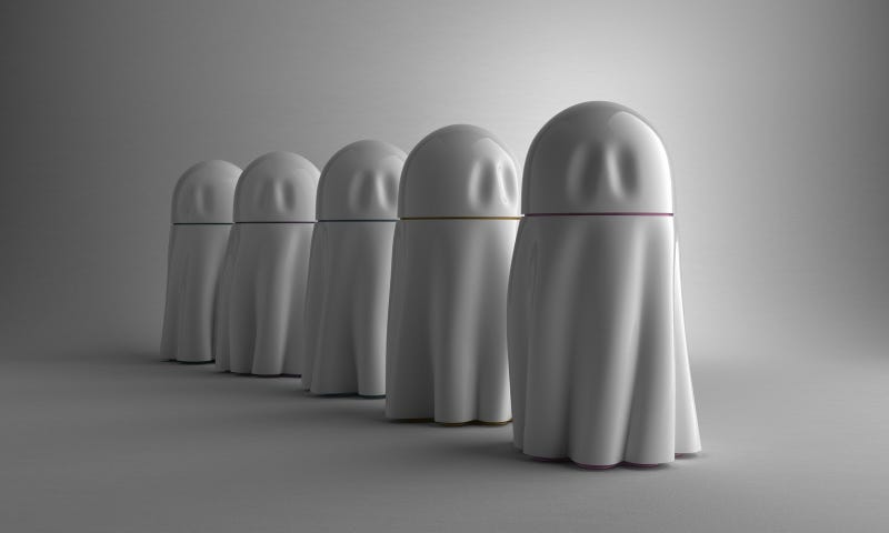 Illustration for article titled Ghost Urns Bring Your Sense of Humor Into the Afterlife
