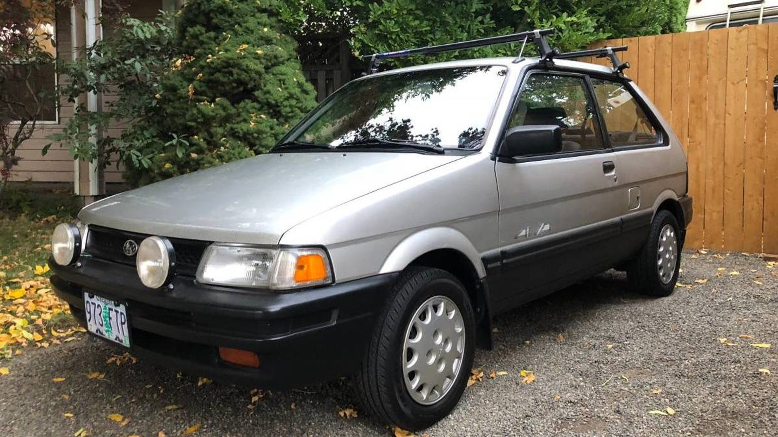 Could This 1990 Subaru Justy AWD Fully Justify its $5,300 Price?Cover Your Entire Desk with This Giant Mouse Pad For Just $12Wednesday's Best Deals: Luggage Locks, REI Clearance, Nuun Gold Box, and More