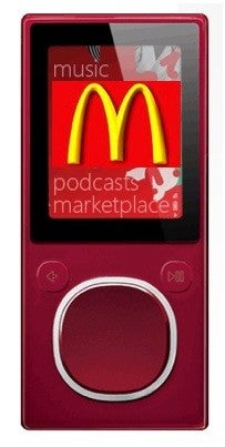 Illustration for article titled Do You Want Wi-Fi with That? Zune Users Get Free Net Access at McDonalds