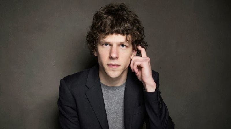 Illustration for article titled Here's what Jesse Eisenberg might be like as Lex Luthor