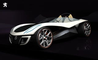 Illustration for article titled And the 2007 Peugeot Design Competition Winner Is: The Flux