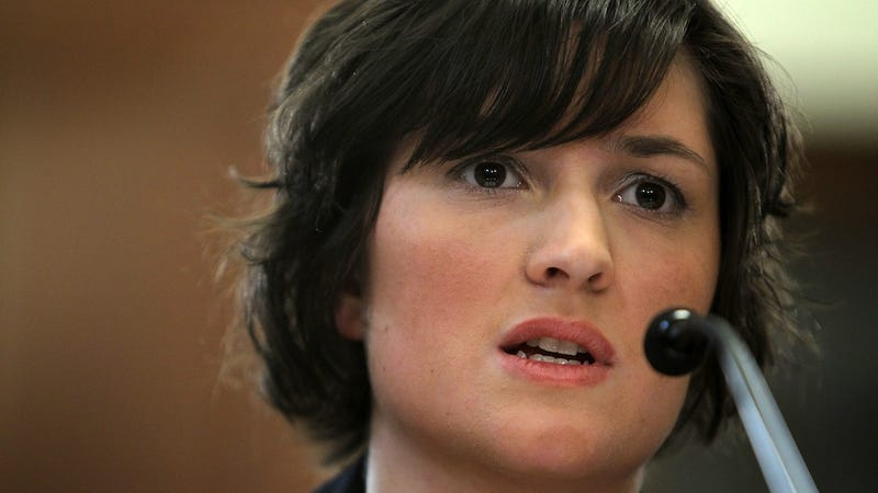 Illustration for article titled Sandra Fluke Sluttily Commits Self to a Lifetime of Monogamy