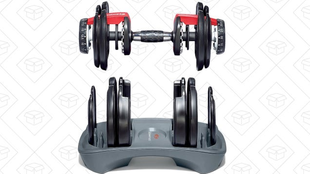 Bowflex s Crazy-Popular Adjustable Dumbbells Have Never Been Cheaper ... d83e9737e042