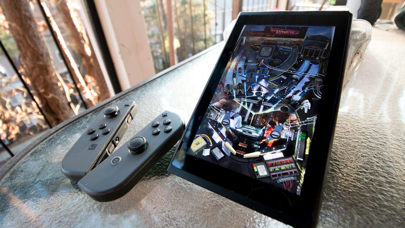 Illustration for article titled The Switch's Screen Is Great For Pinball