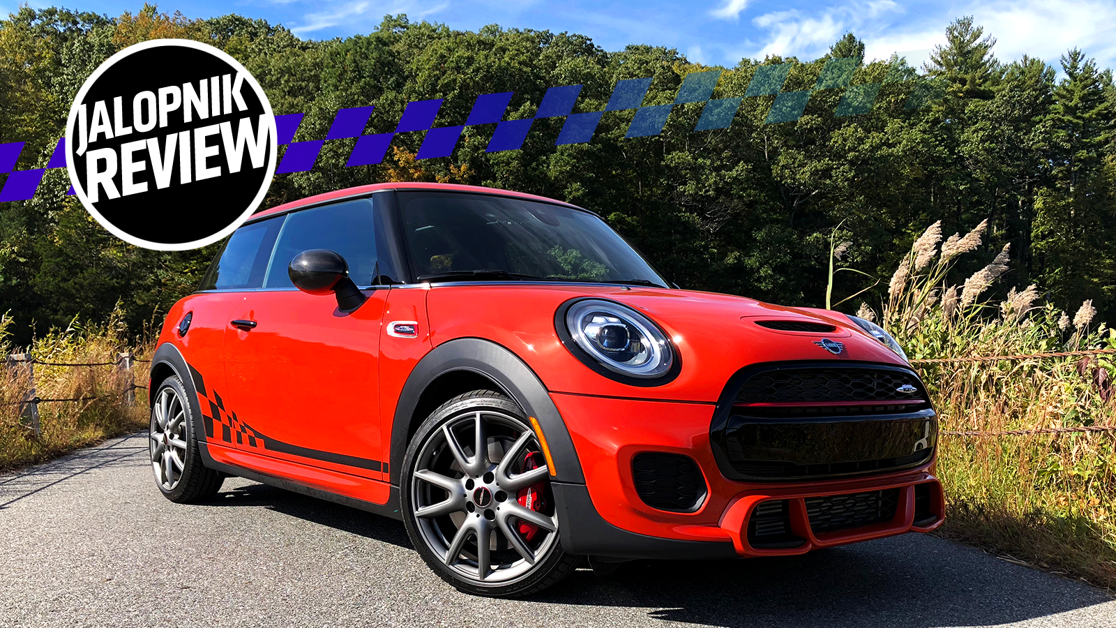 The 2019 Mini JCW International Orange Edition Is A Fast