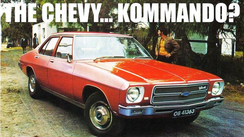 Illustration for article titled 7 Chevrolet sedans America never got