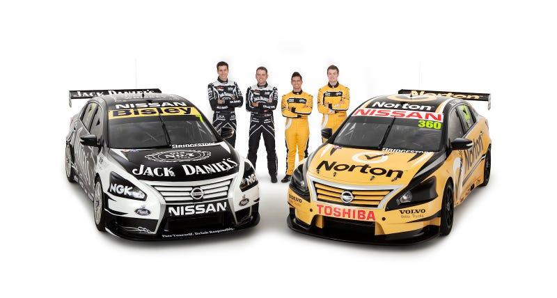 Illustration for article titled Nissan Altima V8 Supercars revealed