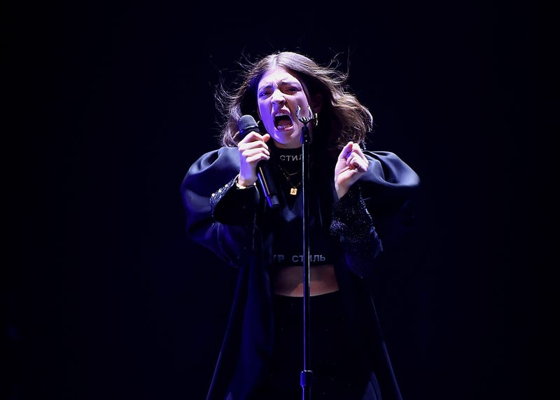 Lorde performs at Melodrama World Tour at Barclays Center on April 4, 2018, in New York City.