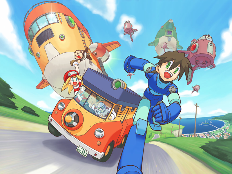 Illustration for article titled Megaman Legends Coming to NA PSN for PSVita and PS3