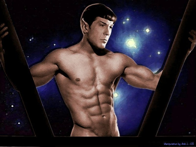 Illustration for article titled Sexy Spock