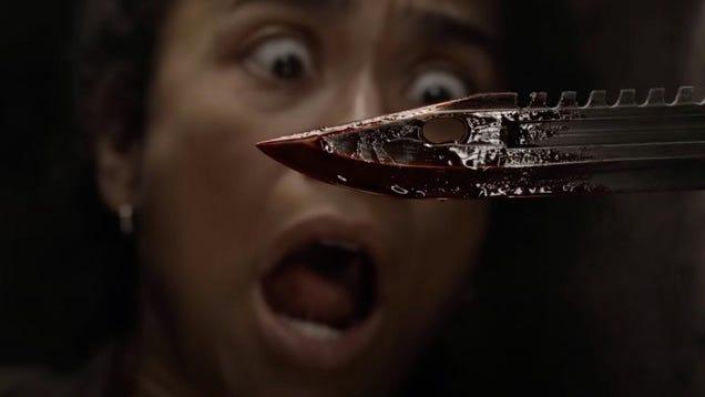 The Walking Dead s Latest Season 11 Teaser Has Lots of Stabbing