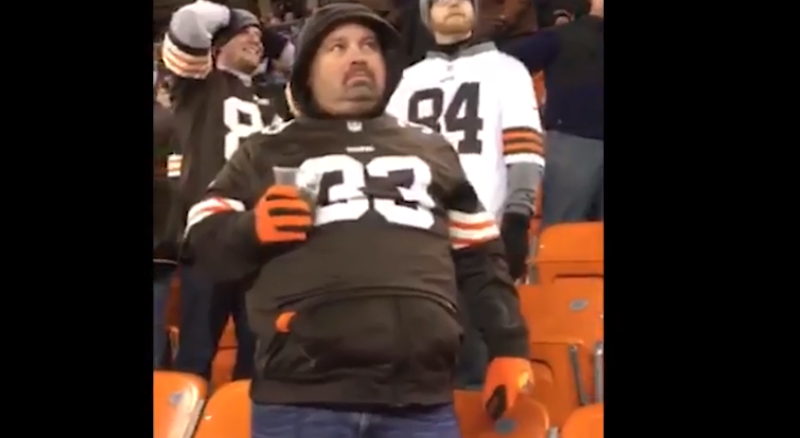 Illustration for article titled Sad Browns Fans Continue To Be A Gift
