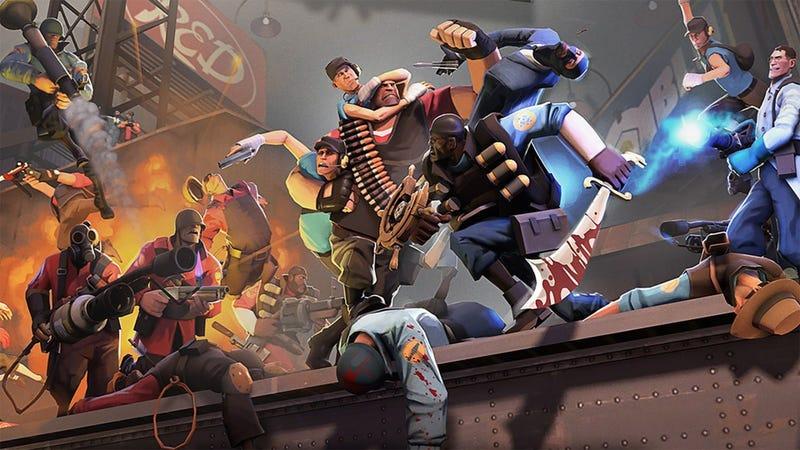 Hasil gambar untuk Team Fortress 2