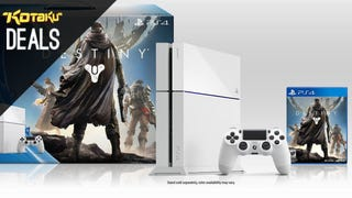 Illustration for article titled White Destiny PS4 Bundle Down to $405, and More Deals