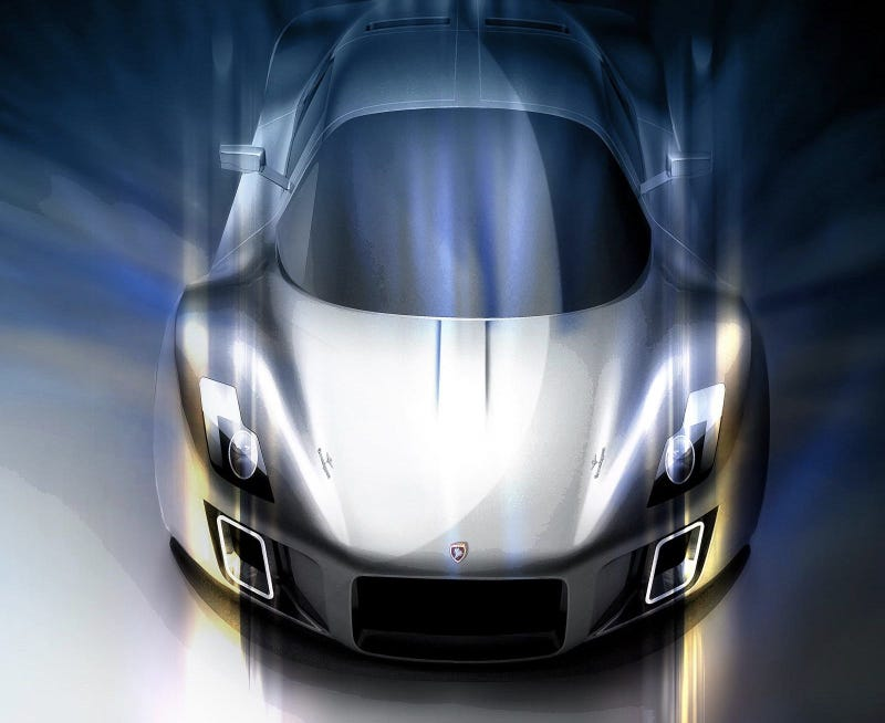 Illustration for article titled The Italian-designed Gumpert Tornante is almost pretty