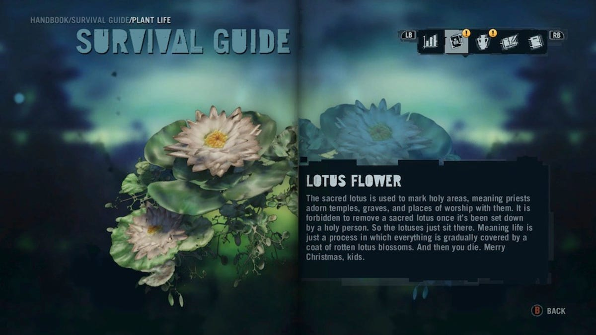 The Weapons In Far Cry 3 Are Great But The Weapon Descriptions Are