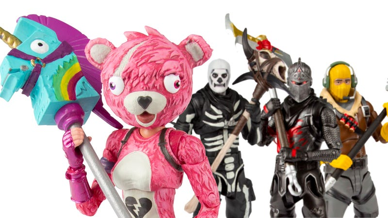 Illustration for article titled Only One Of These Fortnite Action Figures Is Super Cuddly