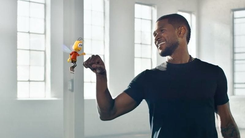 Illustration for article titled Usher's new single will be a cereal-box prize