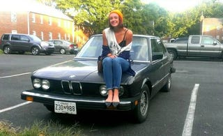 Illustration for article titled BMW Woman For Sale: 1983 Model; Runs Good