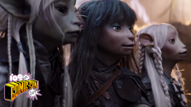 The heroes of The Dark Crystal: Age of Resistance.