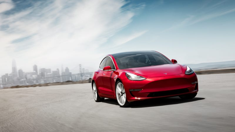 Illustration for article titled The Tesla Model 3 Killed the Rest of American Luxury
