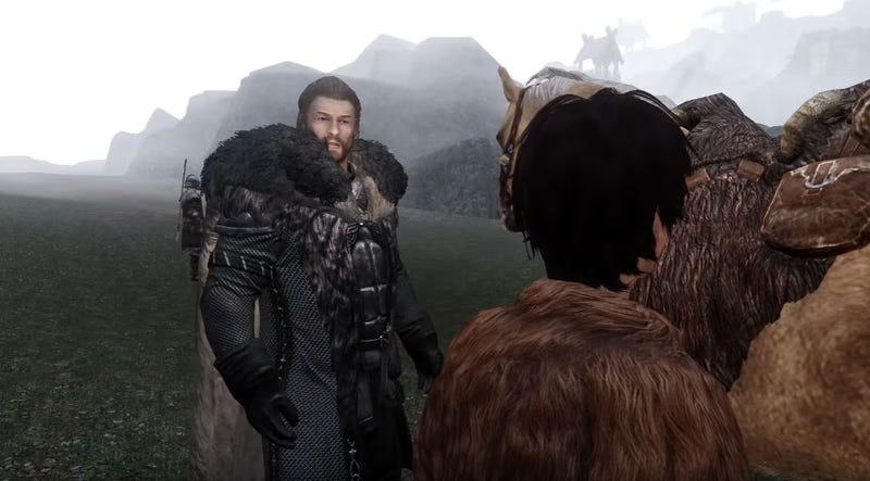 Illustration for article titled 260 Mods Turn Skyrim Into A Game Of Thrones Trailer