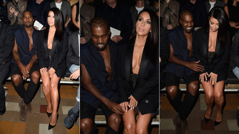 Illustration for article titled Kim and Kanye: Kouples' Kleavage