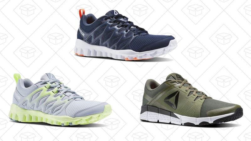 Reebok RealFlex and TrainFlex Shoes, $35 with code TRAINHARD