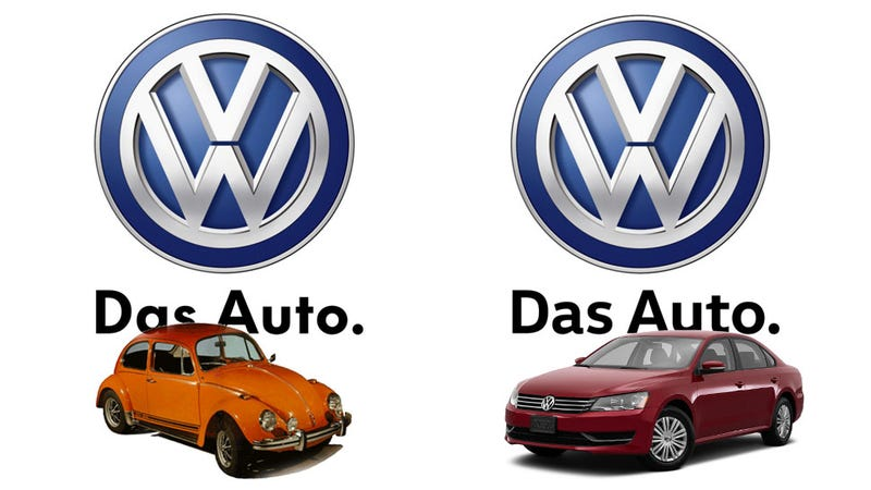 Illustration for article titled VW Changes Their Corporate Font To Something Less Interesting