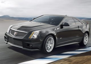 Illustration for article titled Cadillac CTS-V Coupe: Back Seats Are For Poor People