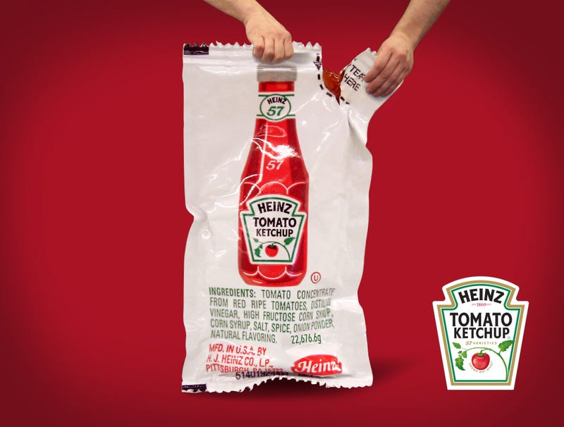 Illustration for article titled Heinz Introduces Industrial-Sized Ketchup Packet