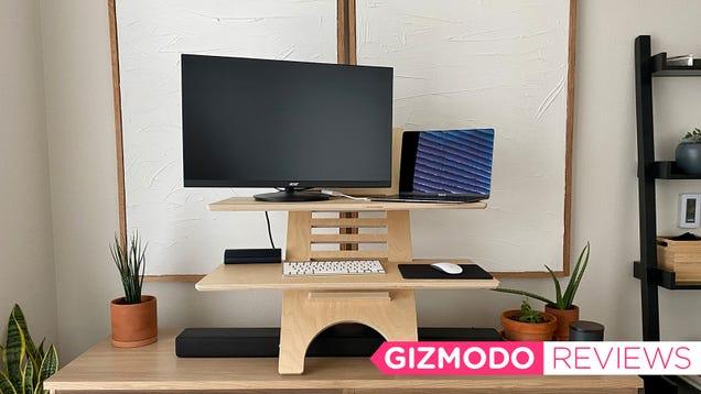 DeskStand Is a Neat Standing Desk Solution That Isn t Heinous