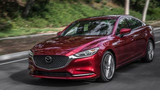 Illustration for article titled 2019 Mazda6 loses the manual
