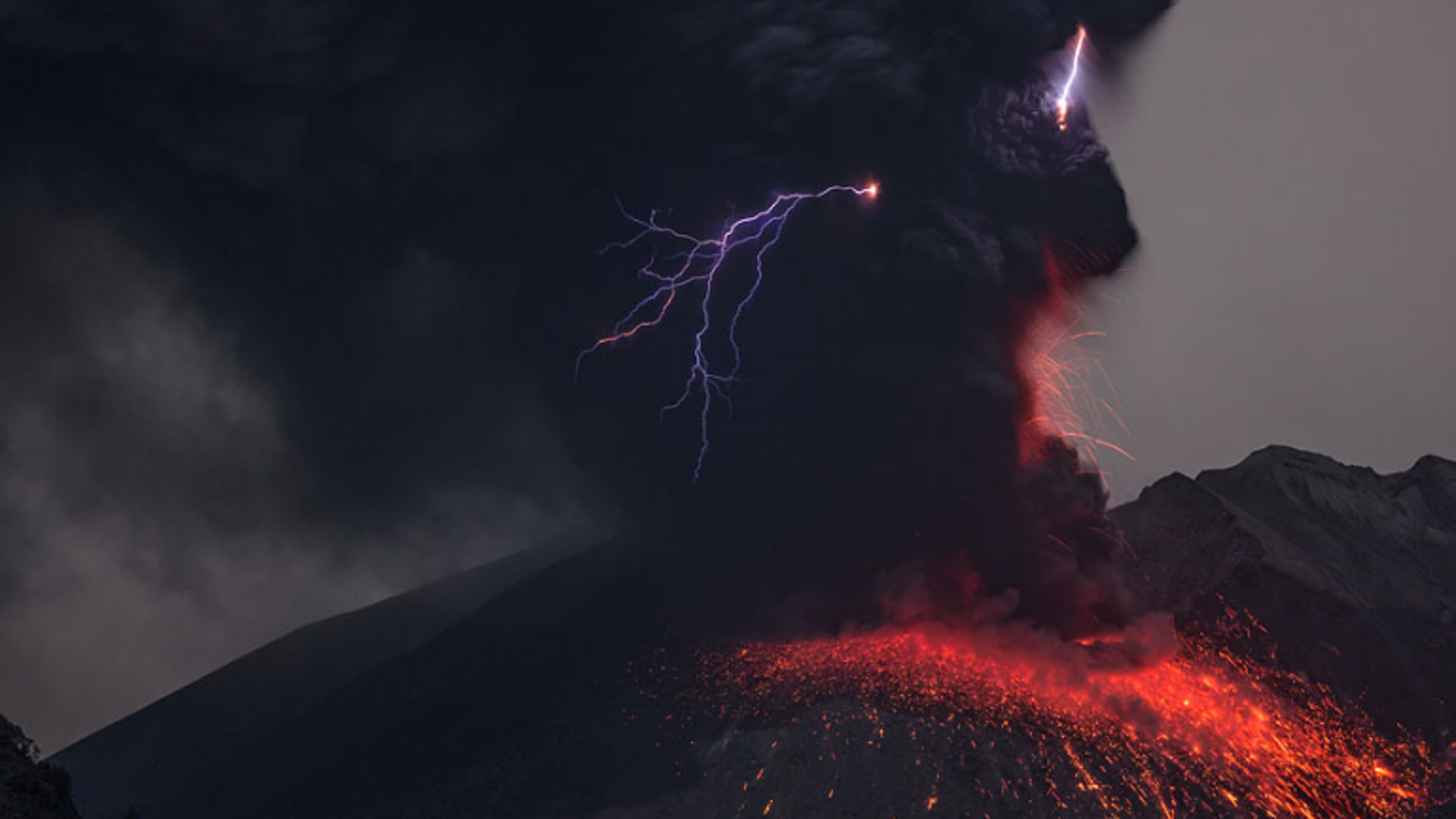 We Finally Know What Causes Volcanic Lightning